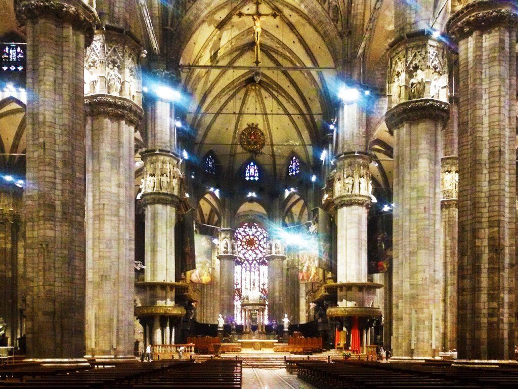 MIlan's Duomo inside
