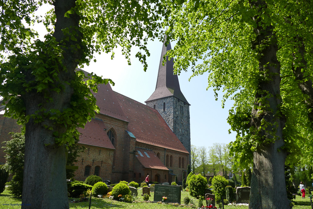 Saint John church at Petersdorf on Fehmarn