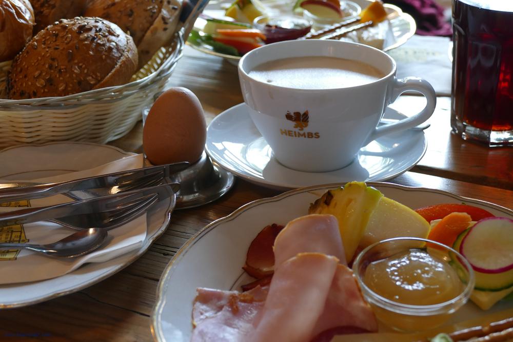 Breakfast at the Hofcafe Albertsdorf on Fehmarn