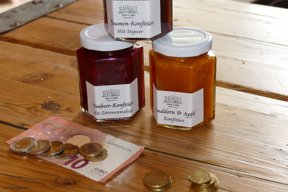 Fruitspread from the island of Fehmarn and money for the plan B
