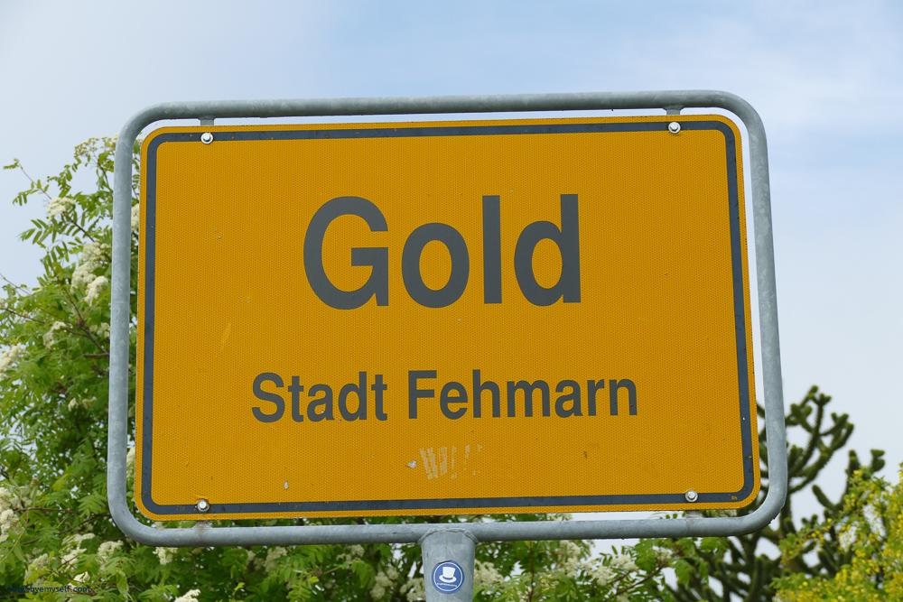 Streetsign on Fehmarn