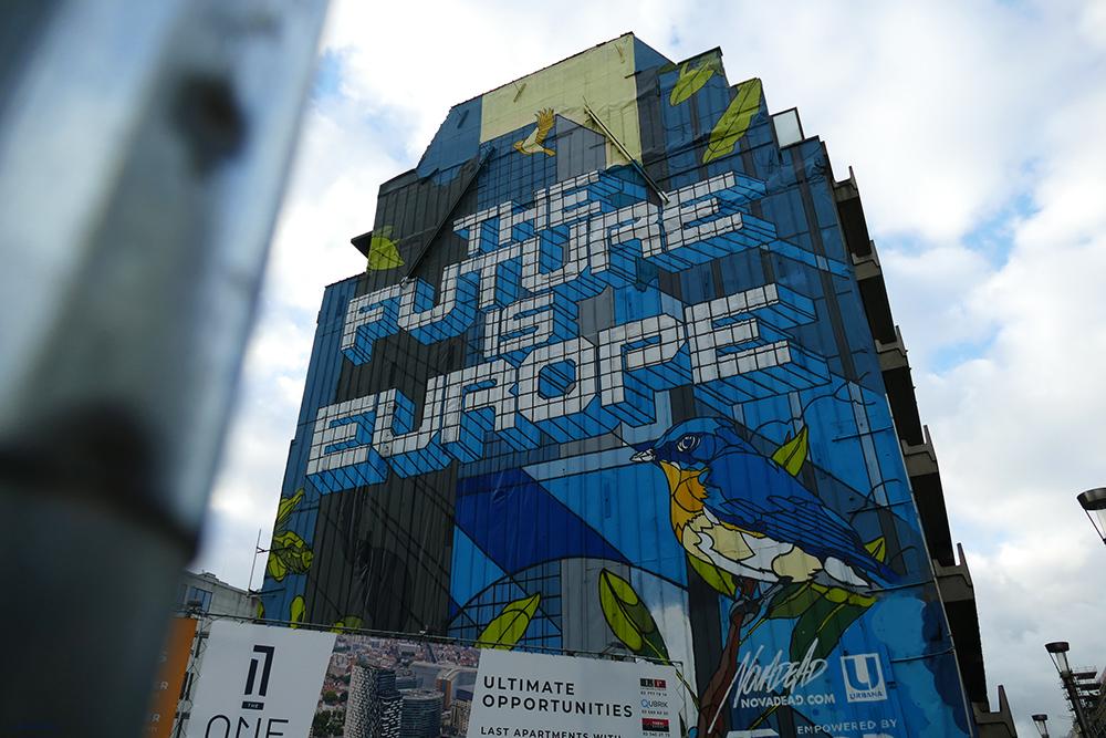 Mural by Nova Dead Brussels