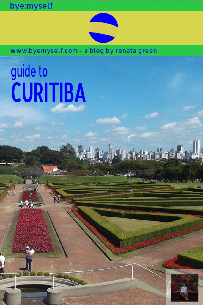 Pinnable Picture for the Post Guide to CURITIBA - and a Day Trip to MORRETES
