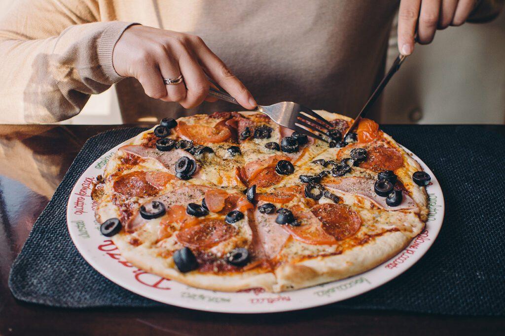 Pizza in Milan