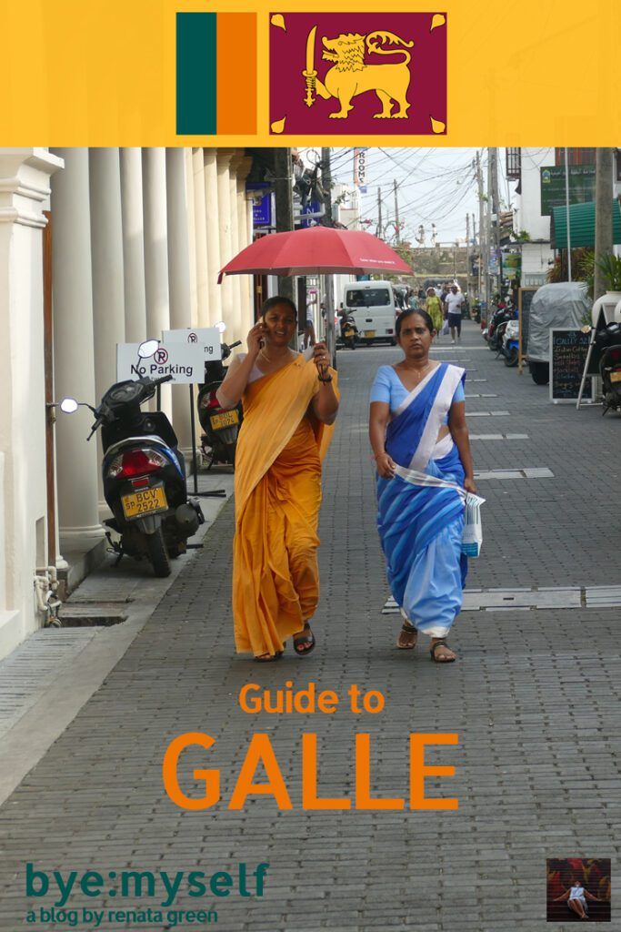 Pinnable Picture for the post on Galle Fort Sri Lanka
