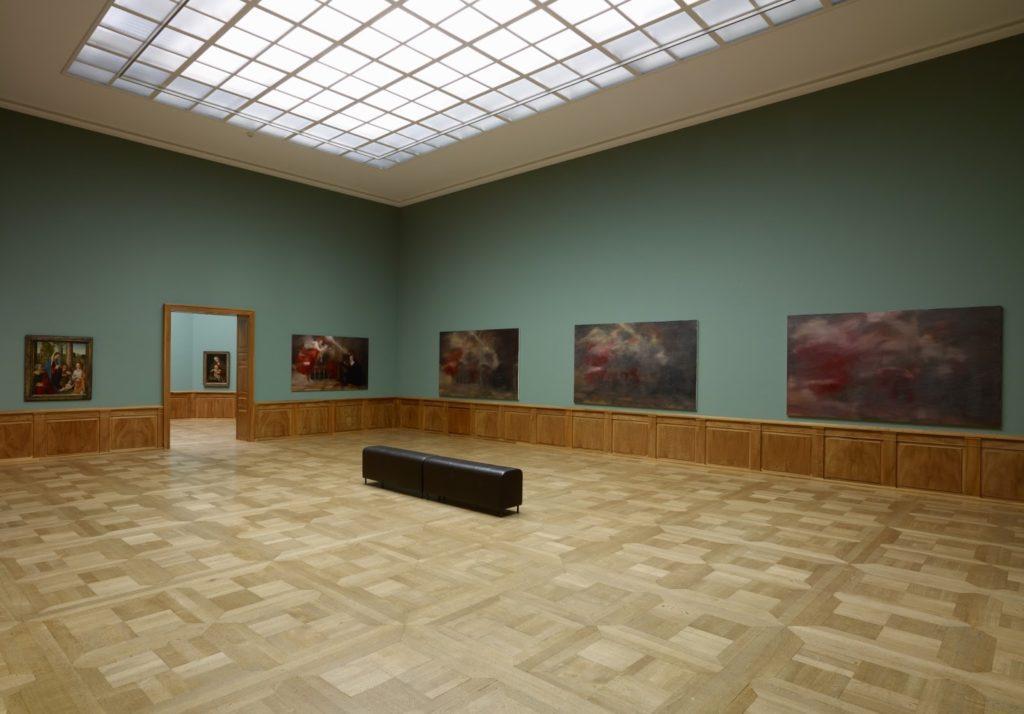 Gerhard Richter Tizian's Verkündung at the Kunstmuseum at Basel.