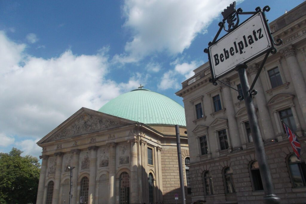 St. Hedwig's Cathedral in Berlin