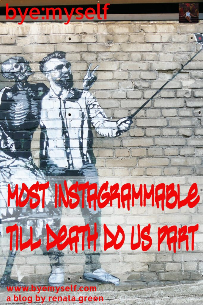Pinnable Picture for the Post most instagrammable - till death do us part