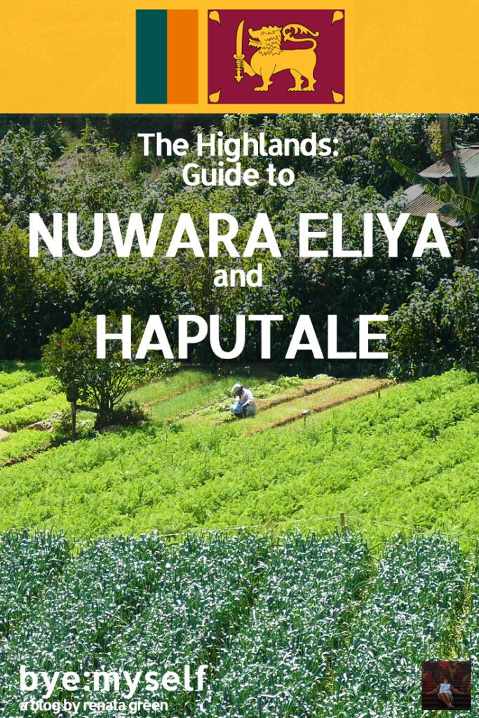 Pinnable Picture for the Post on The Highlands: Guide to NUWARA ELIYA and HAPUTALE