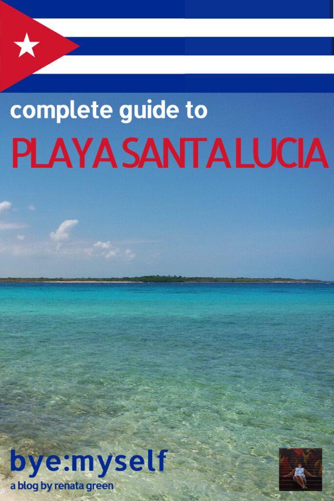 bye:myself - Renata Green - byemyselftravels: Cuba Playa Santa Lucia Camagüey