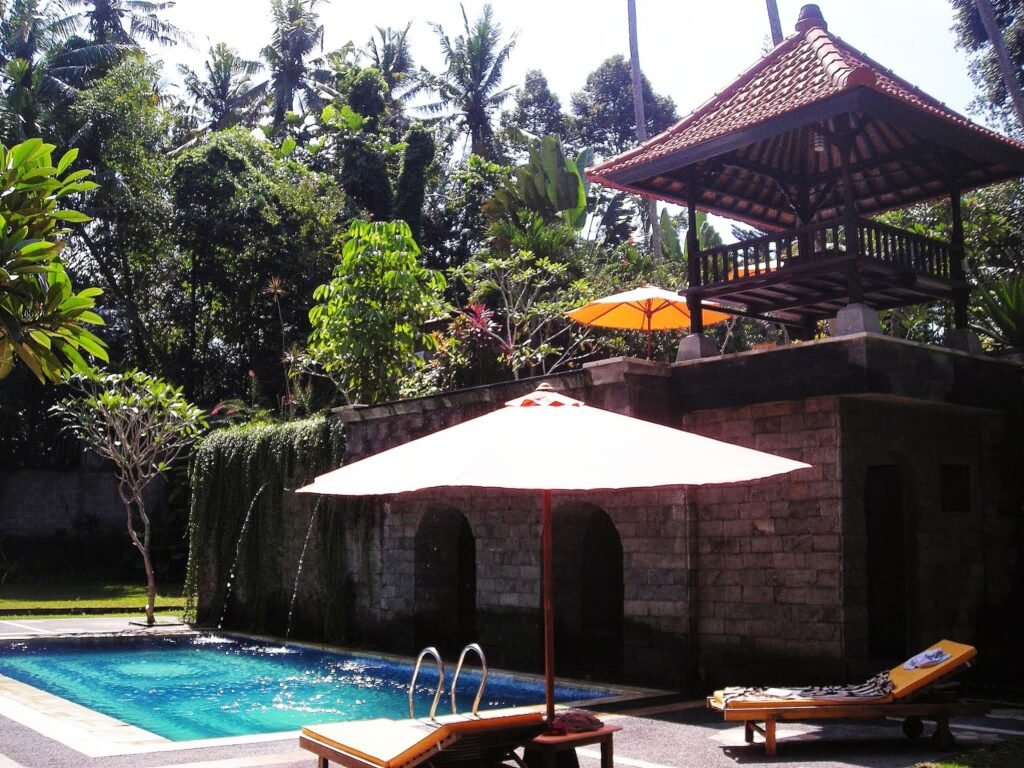 One of the nicest accommodations I've ever stayed at is Alas Petulu in Ubud/Bali that I booked ahead.