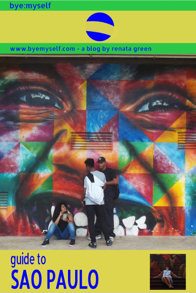 Pinnable Picture for the Post on Guide to SÃO PAULO - Brazil's Art Hub