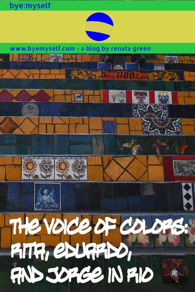 Pinnable Picture for the Post on Streetart in Rio de Janeiro: The Voice of Colors by Rita, Eduardo, and Jorge