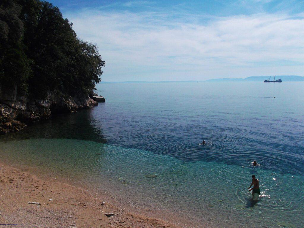 Beach in Rijeka - Istria