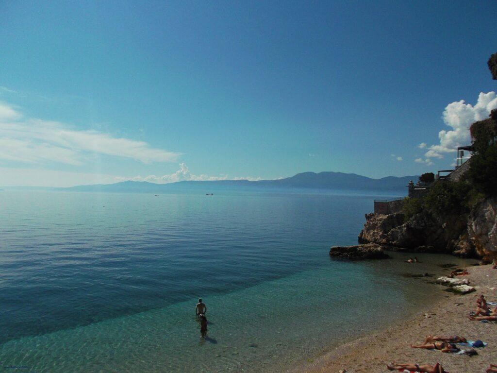 Sablicevo Beach Rijeka Istria Croatia